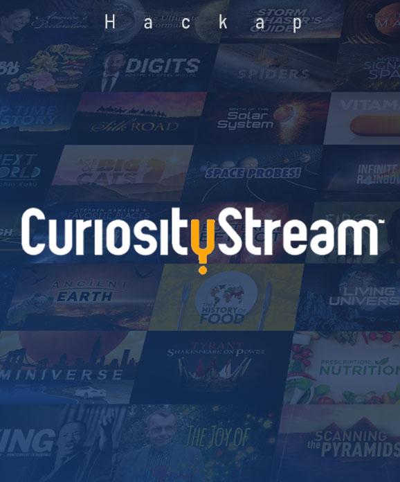 خرید اکانت CuriosityStream